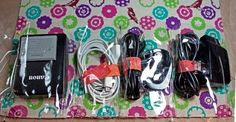 Very clever charger organizer tutorial on the Havel's Sewing blog