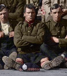 World War 1 Highlanders in Color!