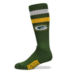 Green Bay Packers Green NFL Retro Tube Sock