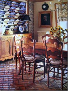 Country French Decorating Magazine for Fall/Winter 2009 Featured on Confessions of A Plate Addict Blog