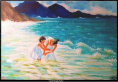 a man's gotta dream... oil painting on paper by rainNsunshine  idea from a Volegov painting.