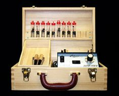 Colwood Detailer Deluxe Wood Burning Kit 9 Fixed Tip Pens
