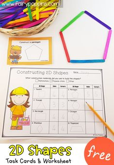 Constructing Shapes Activities