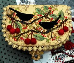 Pretty sewing box.
