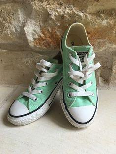 7c3783b25b Converse Peppermint Chuck Taylor Shoes- Size 12 Milan Fashion