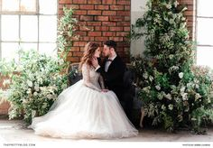 A day of contrasts created the perfect setting for these two!