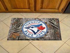 "MLB - Toronto Blue Jays Scraper Mat 19""x30"" - Camo"