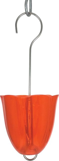 Droll Yankees Inc-Ant Moat Hummingbird Feeder Accessory- Orange 3 Inch