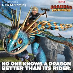 Astrid and Stormfly are a match made in Valhalla! #DreamWorksDragons