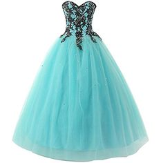 Wallbridal Aqua Lace Beaded Tulle Prom Gown Quinceanera Dress Graduation Dress (12) Wallbridal http://www.amazon.com/dp/B019SSXRJK/ref=cm_sw_r_pi_dp_KWJIwb1ANHS9S