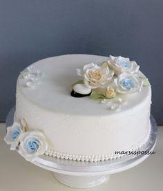 Marsispossu: Kakku ylioppilasjuhliin Sweet Treats, Sweets, Cookies, Baking, Desserts, Graduation, Student, Wedding, Dog
