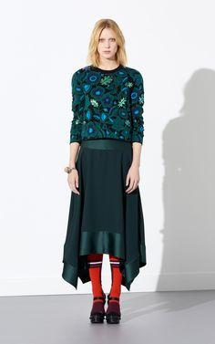 Shadow Flowers Sweater, KENZO