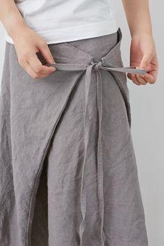 SARAXJIJI フォールドスカート(リンクルリネン2色) Linen Dress Pattern, Dress Patterns, Pattern Draping, Clothes Crafts, Sewing Clothes, Dress Clothes, Linen Skirt, Linen Dresses, Maxi Skirt Tutorial