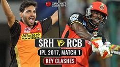 SRH vs RCB Match Prediction: Who will win the match between Sunrisers Hyderabad and Royal Challengers Bangalore IPL 2017 Match 1 Ipl 2017, Who Will Win, Hollywood Celebrities, Hyderabad, Football Helmets