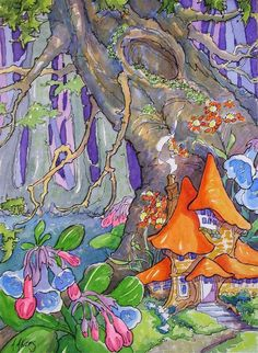 Hidden Among the Bluebells Storybook Cottage Series - Alida Akers