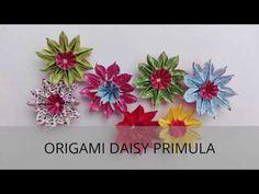 ORIGAMI DAISY PRIMULA - YouTube