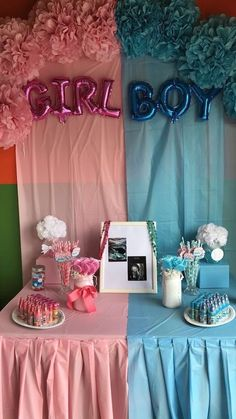 42 Creative Gender Reveal Ideas You Can Steal 2020 These trendy Nails ideas would gain you amazing compliments. Check out our gallery for more ideas these are trendy this year. Simple Gender Reveal, Baby Gender Reveal Party, Gender Reveal Nails, Gender Reveal Gifts, Shower Bebe, Baby Boy Shower, Fotos Baby Shower, Its A Girl Announcement, Baby Boy Cakes