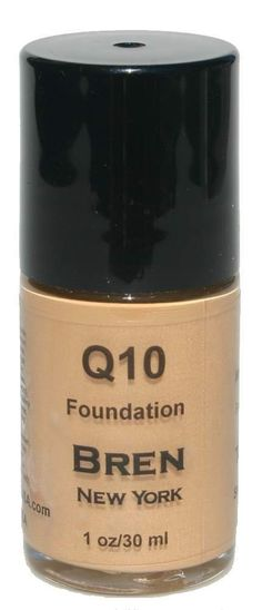 Foundation with Coq10 Tawny Minimizes Fine Lines and Smooth Out Wrinkles. Instant Face Lift. Anti-Aging Foundation. Minimizes Fine Lines. Provides Medium To Full Coverage.