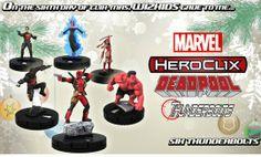 Marvel Heroclix Thunderbolts Starter.