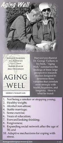 """""""Ten Factors that Predict #Healthy #Aging:""""  http://www.integrativepsychiatry.net/blog/ten-factors-that-predict-healthy-aging/"""