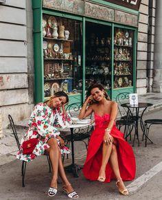 Fashion Dresses Pretty dresses for summer. Travel Outfit Summer, Summer Outfits, Summer Dresses, Summer Chic, Spring Summer Fashion, Casual Summer, European Fashion, European Travel, Passion For Fashion