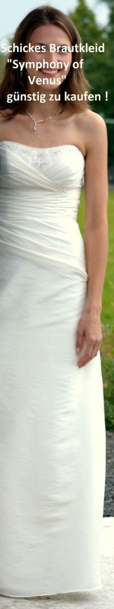 """♥ Elegantes Brautkleid """"Symphony of Venus"""" ♥  Ansehen: http://www.brautboerse.de/brautkleid-verkaufen/elegantes-brautkleid-symphony-of-venus/   #Brautkleider #Hochzeit #Wedding"""