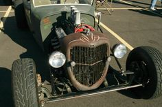 1936 ford truck grill cut down 9inches