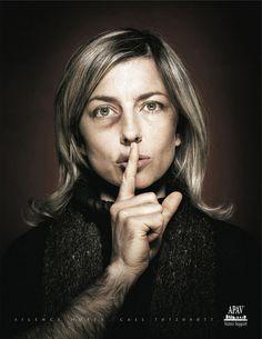 Cisza boli / Dobra kampania przeciwko przemocy wobec kobiet! - El silencio duele. / Campaña contra la violencia hacia las mujeres.