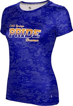 ProSphere Womens Cold Springs High School Digital Tech Tee XXLarge ** Continue to the product at the image link.  This link participates in Amazon Service LLC Associates Program, a program designed to let participant earn advertising fees by advertising and linking to Amazon.com.