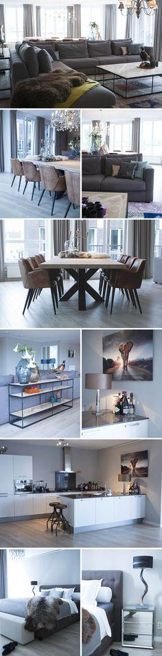 binnenkijken bij: de stijl van Maarten #woonstijl modern >> Goossens wonen en slapen <<