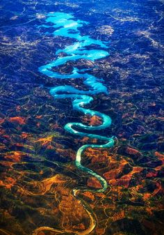 Top 18 Incredibly Beautiful Places In UK You Should Visit Before You Die - Blue Dragon River
