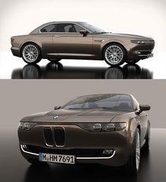 BMW Vintage CS concept