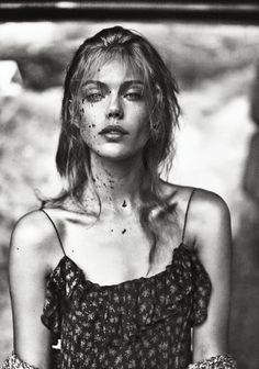 Model Frida Gustavsson stars in this evocative, spectacular editorial 'Love  Is A Letter Sent A Thousand Times' fashion editorial for Scandinavia  S/S/A/W issue #8 Spring 2014.  Photographer Boe Marion and fashion editor Oscar Lange create pure fashion  poetry with these gorgeous, sensitive images that touch on every aspect of  Frida's emotions and lifestyle./Hair by Karl Eklund; makeup by Anya De  Tobon.
