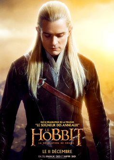 New Legolas poster for Desolation of Smaug - Whaaaaaaaaaaaat?! I didn't know they were bringing Legolas back for The Hobbit!