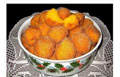 Sonhos de cenoura fofinhos e deliciosos - http://www.sobremesasdeportugal.pt/sonhos-de-cenoura-fofinhos-e-deliciosos/