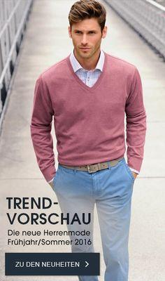 Lässige Herrenmode & Herrenbekleidung | peterhahn.de