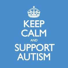 Autism awareness....Supporting Autism 100%