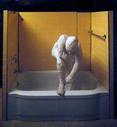 1963 George Segal, Woman shaving her Leg, Pop Art. #USA @deFharo
