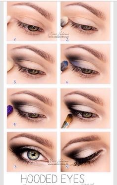 8 Make-Up Tips For Hooded Eyes #tipit #Beauty #Trusper #Tip