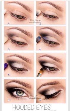 8 Make-Up Tips For Hooded Eyes #tipit #Beauty #Trusper #Tip