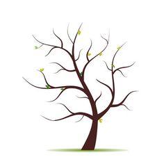 Kostenlose Malvorlage Baum Ohne Blätter - Malvorlagen