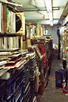 Records! Records! Records could literally spend an entire afternoon in these shops, back in the day!!!