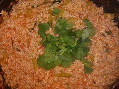 Spanich rice with cilantro
