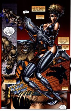 The downside to super hero landings is how one leg inevitably grows longer than the other. This is down to the compacting of the left knee stunting its growth. Bad Comics, Marvel Comics, Comic Book Artists, Comic Books, Rob Liefeld, Thundercats, Image Comics, Venom, Comic Art