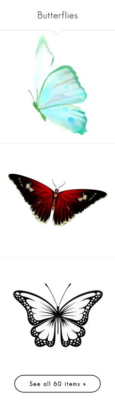"""""""Butterflies"""" by callmebteam ❤ liked on Polyvore featuring butterflies, backgrounds, animals, fillers, effect, home, home decor, wall art, art and effects"""