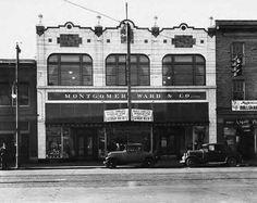 Montgomery Wards & Co , Main St, downtown Lexington, Ky