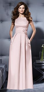 Dessy Style 2796 Bridesmaid Dress in Blush