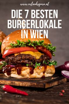 Beste Burger, Austria, Hamburger, Food Travel, Roads, Ethnic Recipes, Restaurants, Bucket, River