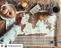 More Travel = More Food  Check out @thefoodtwinz for the upcoming take on NYC's #food scene!
