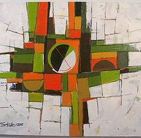Abstract Paintings by Artist Boski Sztuka | Online Gallery